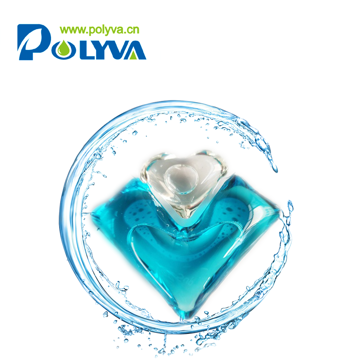 Mildmade active matter pods liquid laundry detergent condensate beads