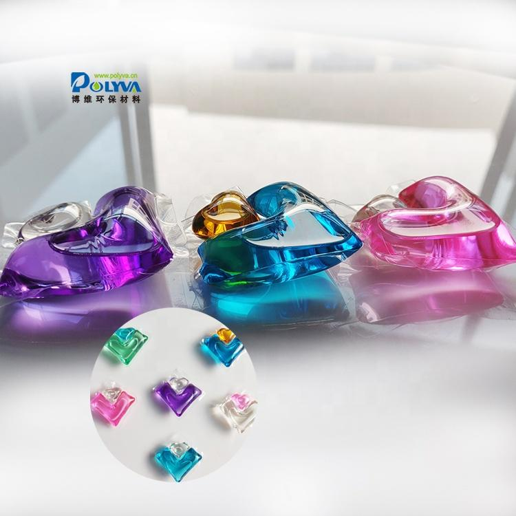 OEM and ODM unit-does and gel laundry orchid pods for washing clothes