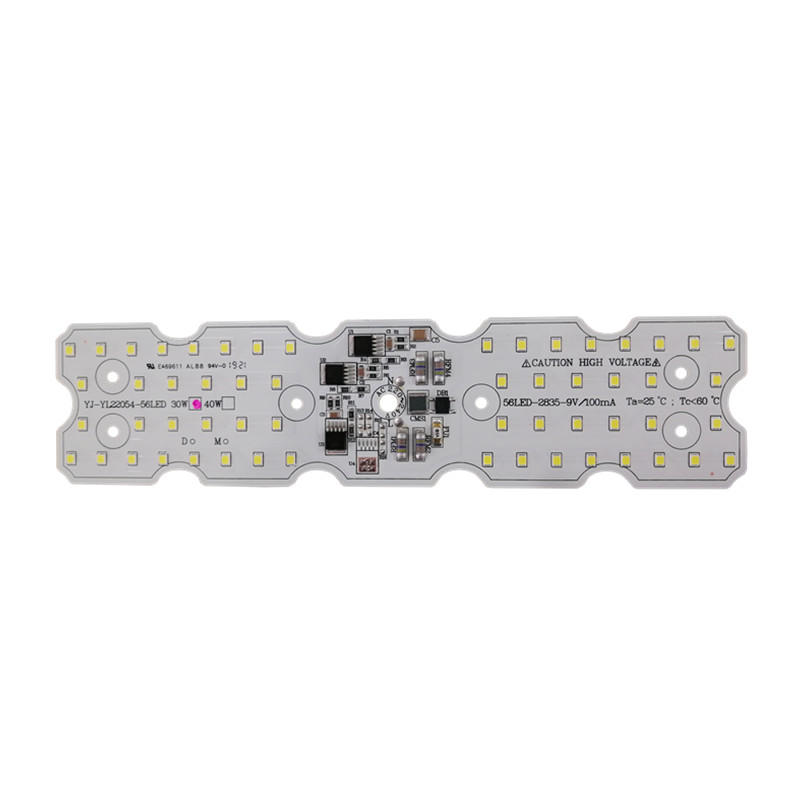 CE LVD RoHS Approved 220x54mm 100lm/W 40W Driver-on-board Light Engine 220V AC 2835 SMD led Module for street light