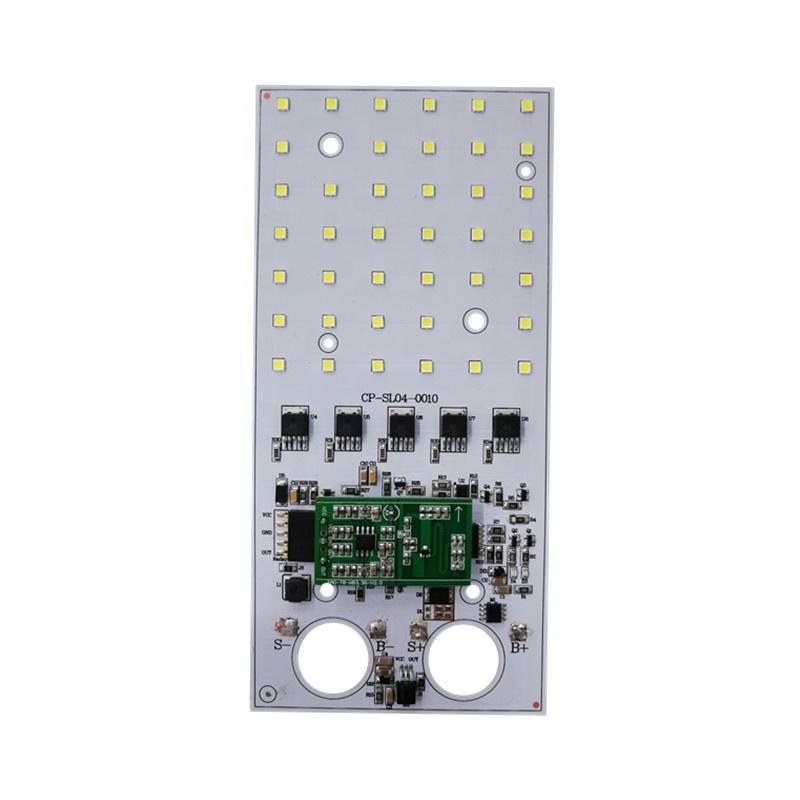 10W 1750lm CE RoHS Certification DC 3.2V SMD LED Dob Driverless LED Square PCB PCBA Module for Solar LED Streetlight