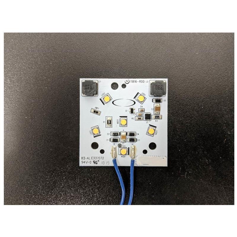 High quality 20W 1500LMRa 90 ac 12V input DOB driverless led module pcb pcba for LED traffic light