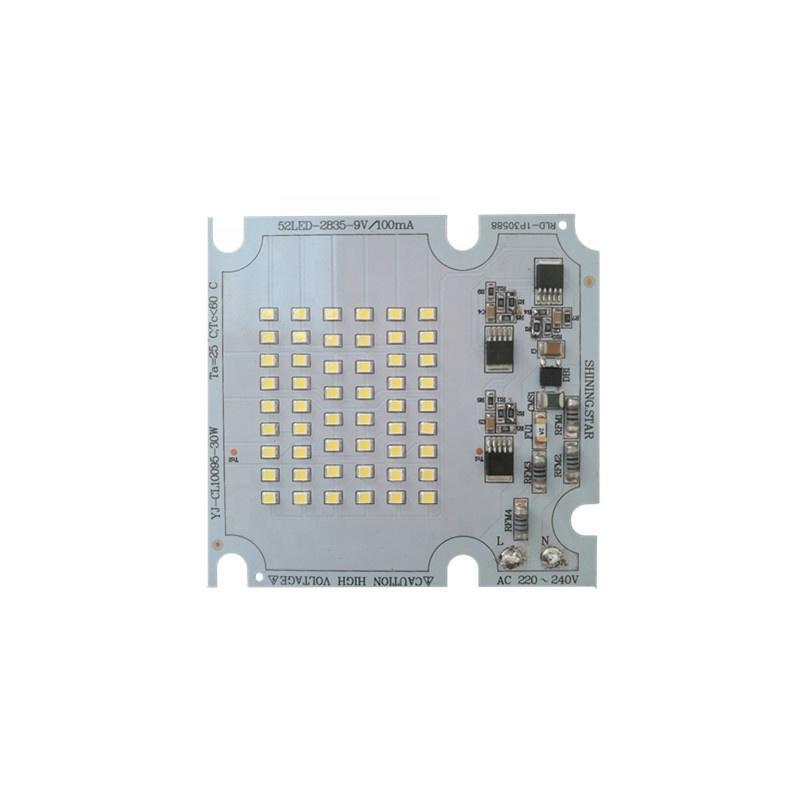 High quality 30WRa 80 ac DOB driverless pcb pcba 220V input led module for LED Streetlight