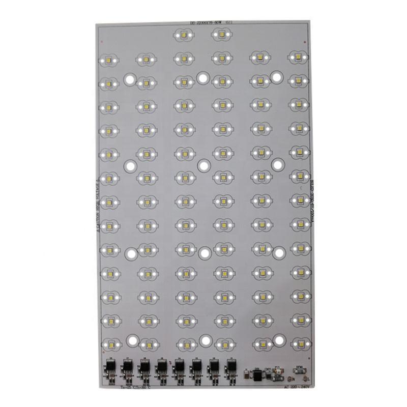 100 lm/W CE RoHs certification AC 220V EMC 3030 LEDs DOB driverless 60W led square pcb pcba linear module for LED Streetlight