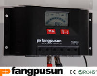 LCD Display Intelligent Hybrid 12V 24V Solar Charge Controller 30A Solar Regulator