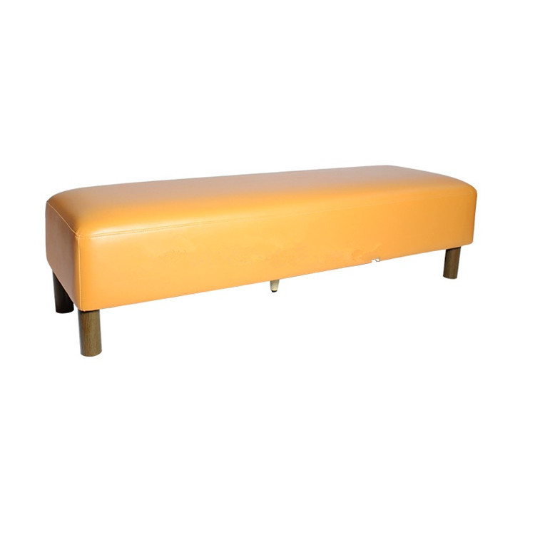 MCI modern low footstool Upholstered Wooden Low Stool