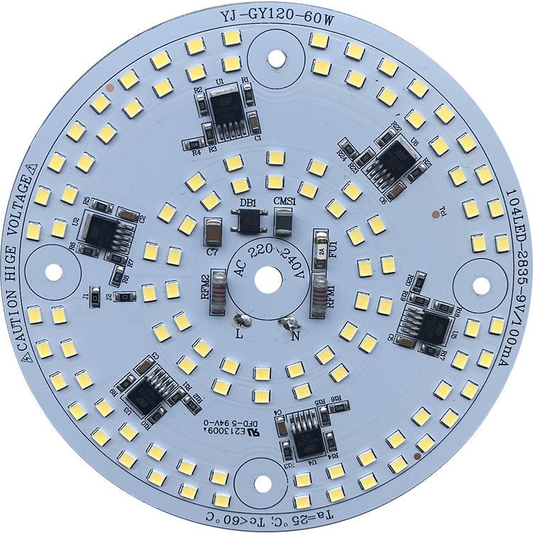 driverless ac 220v 110 lm/W 60W dob led module for LED Work Light