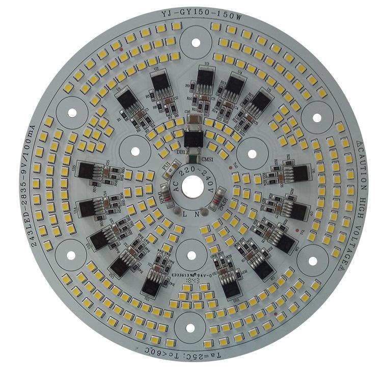 High power 110v 220v 110 lm/W driverless ac led module for LED Working Light