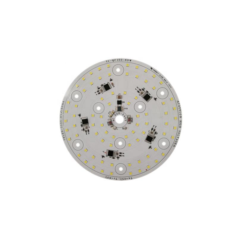 3years warranty 110lm/W CE RoHS Certification Ra80 60W 220V ac input voltage led module pcb pcba for LED Mine Light