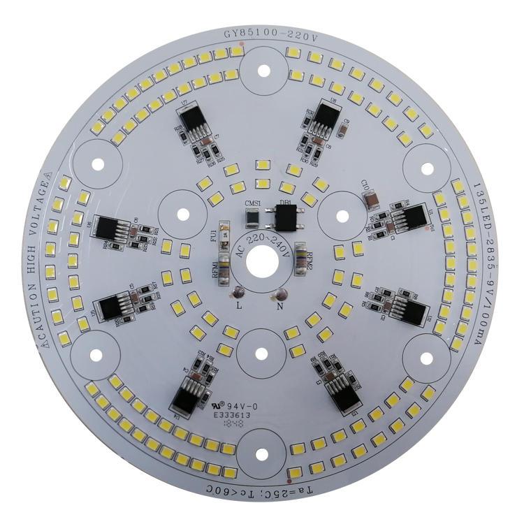 High power 110v 220v 80 Ra driverless ac dob led module for LED Mine Light
