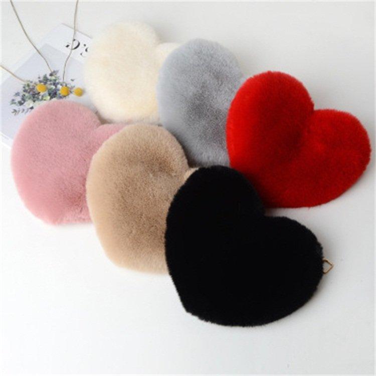 Osgoodway2 Colorful heartwool cellphone bag shoulder crossbody cute trendy women handbags