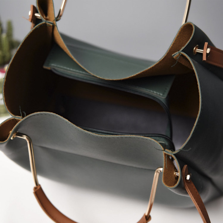 product-Osgoodway-Osgoodway2 IG Hot Selling Women Leather Shoulder Bucket Sling Bag Wholesale Ladies
