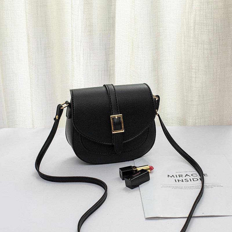 product-Osgoodway-Osgoodway2 Retro women saddle bag fashion wild women lady PU leather cell phone ba