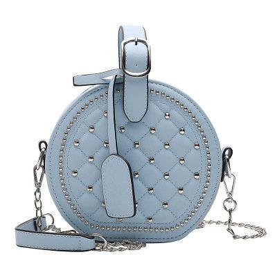 product-Osgoodway-Osgoodway2 Fashion rhombic rivet round women crossbody small bag girl bags handbag