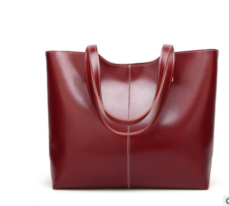 product-Osgoodway-Osgoodway2 Retro Oil Wax Leather Tote Fashion Handbag 2020 Leather Bags Women Hand
