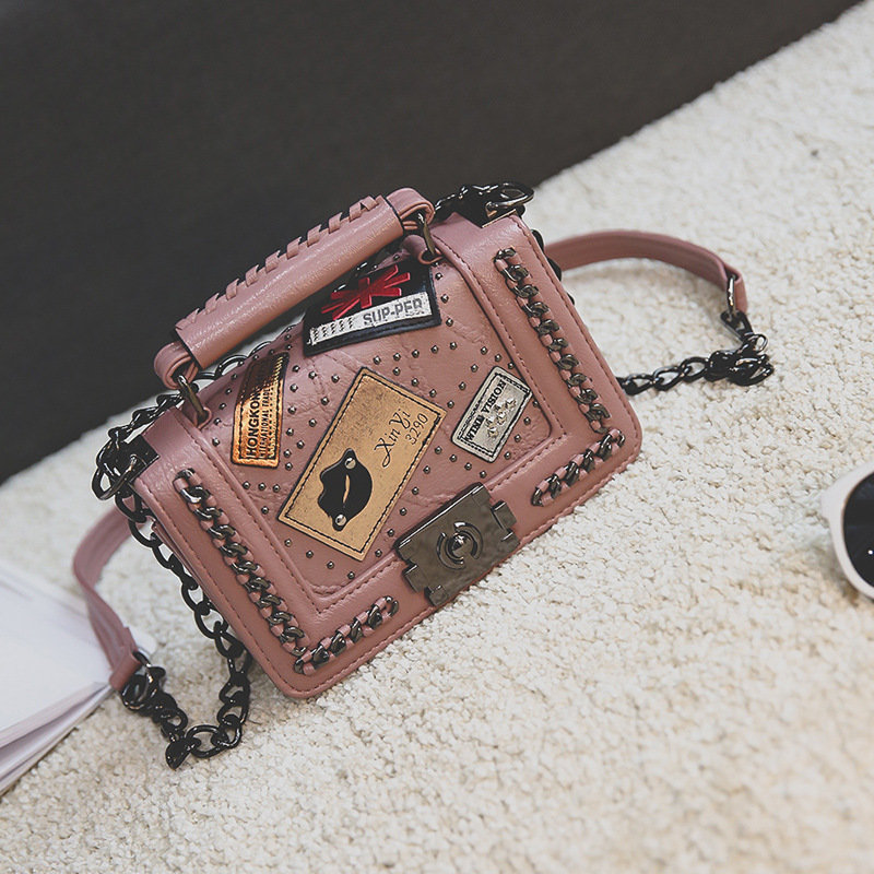 product-Osgoodway-Osgoodway2 New launching retro small square leather trendy crossbody bag personali