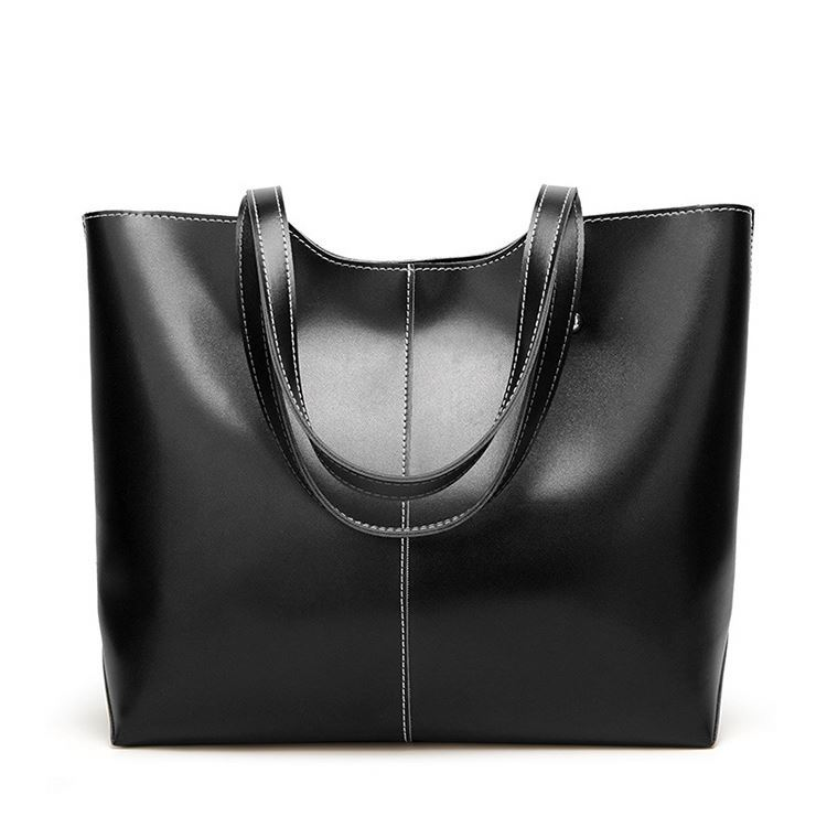 Osgoodway2 Retro Oil Wax Leather Tote Fashion Handbag 2020 Leather Bags Women Handbags For Ladies