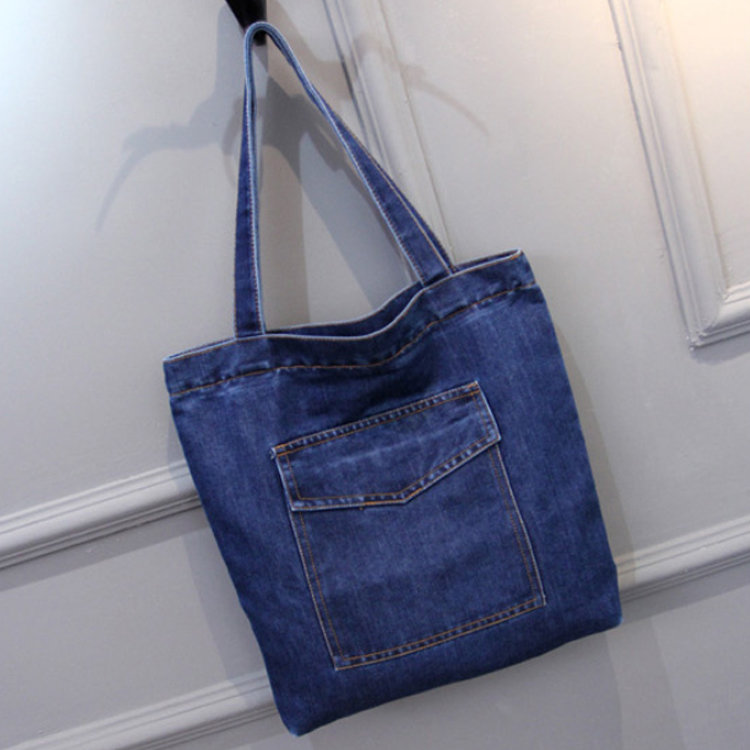 product-Osgoodway-Osgoodway2 Jeans Handbags Women Bags Fashion Style Girls Travel Shoulder Tote Bag