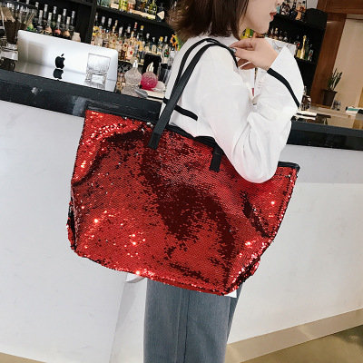 product-Osgoodway2 Fashion custom sequin bag trendy shoulder tote bags trendy handbags for women-Osg-1