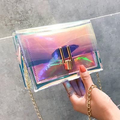 Osgoodway2 Fashion women custom logo colorful shoulder crossbody bag glitter handbags