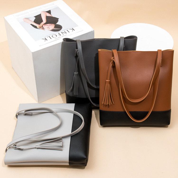product-Osgoodway2 Wholesale Trendy Handbags Tassel Leather Tote Bags Handbags for Women Ladies-Osgo-1