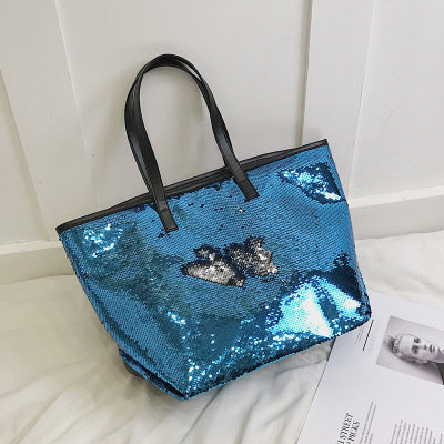 Osgoodway2 Fashion custom sequin bag trendy shoulder tote bags trendy handbags for women