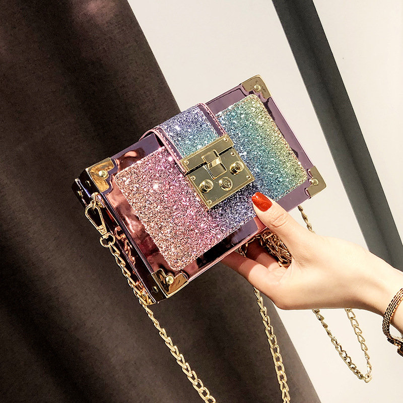 product-Osgoodway-Osgoodway2 Korean fashion sequined messenger chain bag women fashion crossbody bag