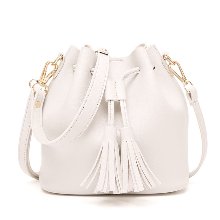 product-Osgoodway-Osgoodway2 Ladies Drawstring Bucket Bag Fashion Small Crossbody Women Leather Bags