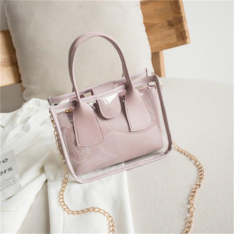 product-Osgoodway2 Korean personality female crossbody bag transparent purses summer handbags-Osgood-1