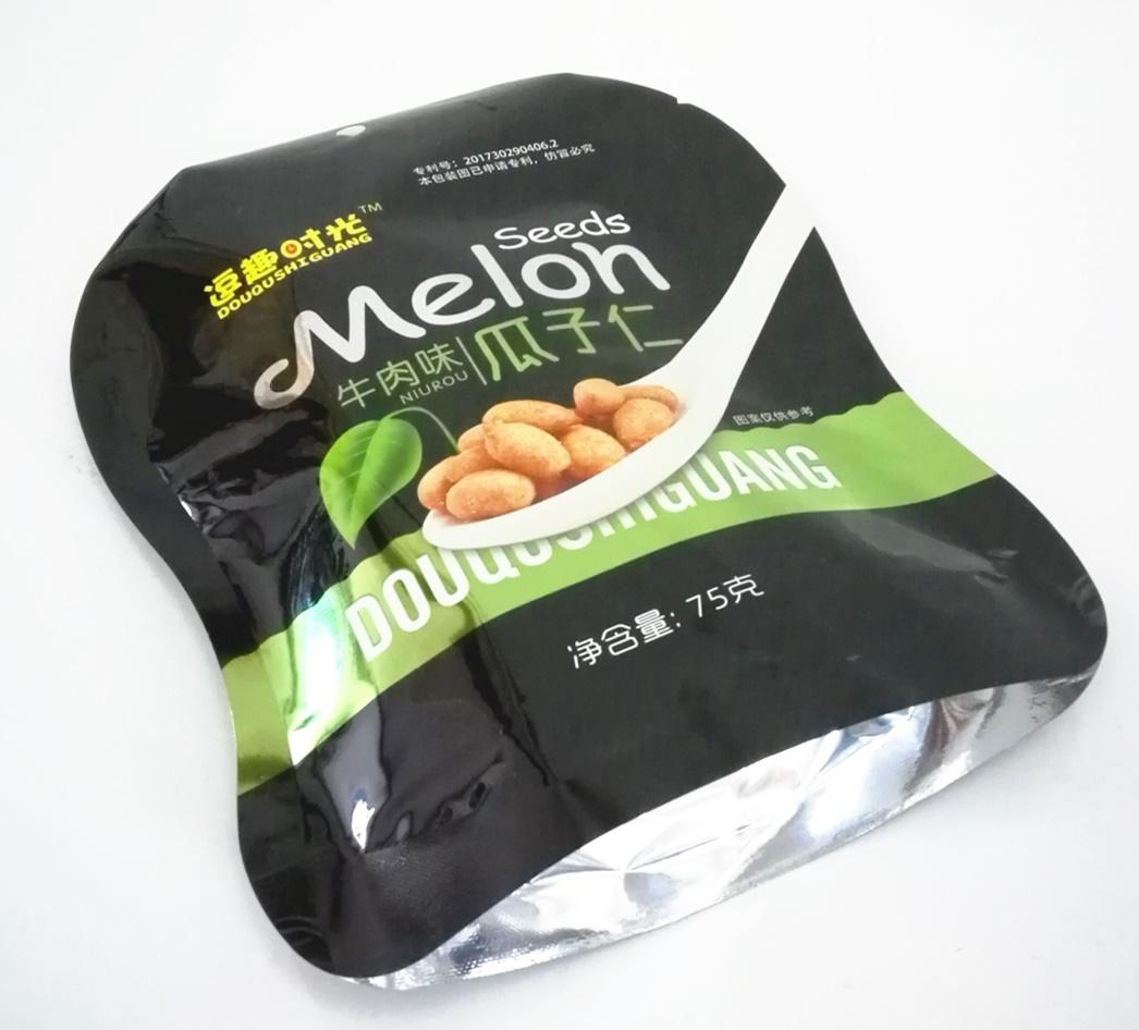 heat seal snack food packaging bag stand up pouch for almonds nut packaging