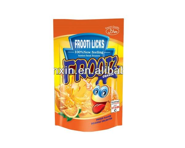 200ml stand up resealable juice pouch