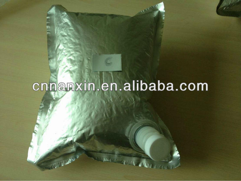 aluminum food packaging with spout big volume bag