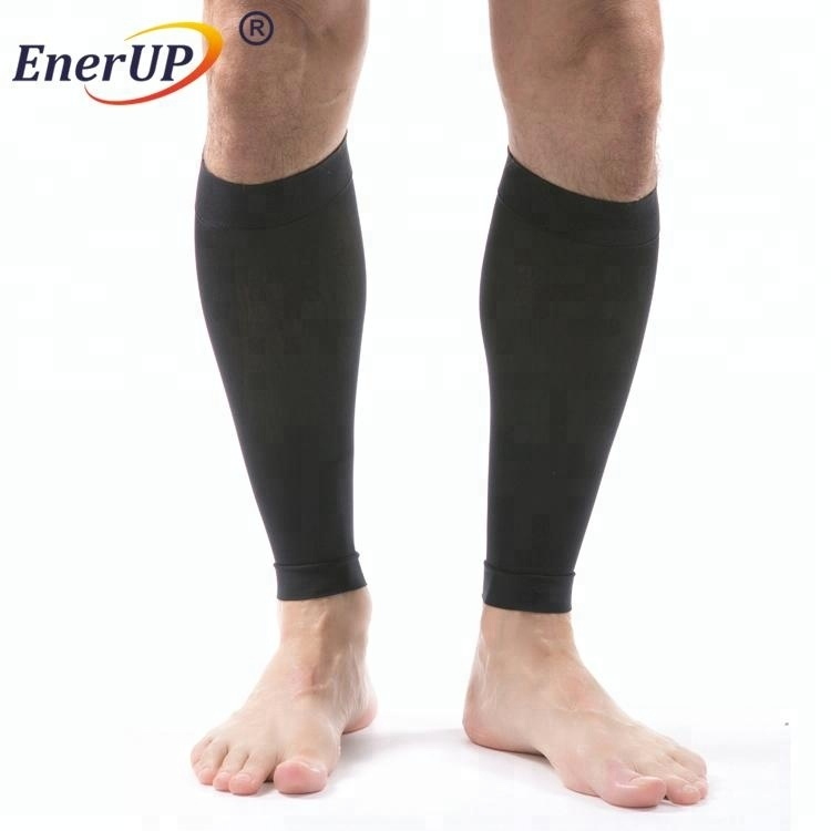 Professional Leg Running Sleeves Support Compression Brace Calf Shin Socks