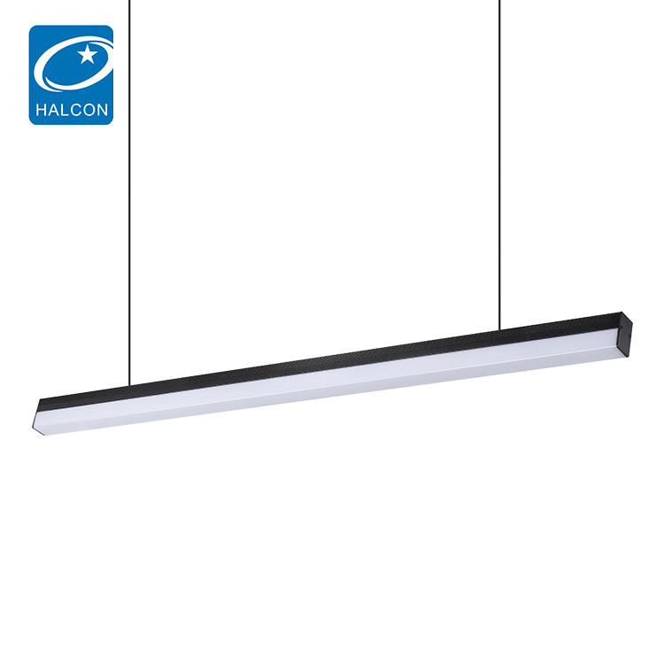High power pc material indoor smd 4ft 5ft 30 40 w led pendant lamp