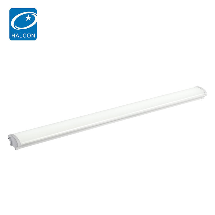 High lumen indoor ip65 waterproof 4ft 36w 8ft 60w linear LED batten tube light