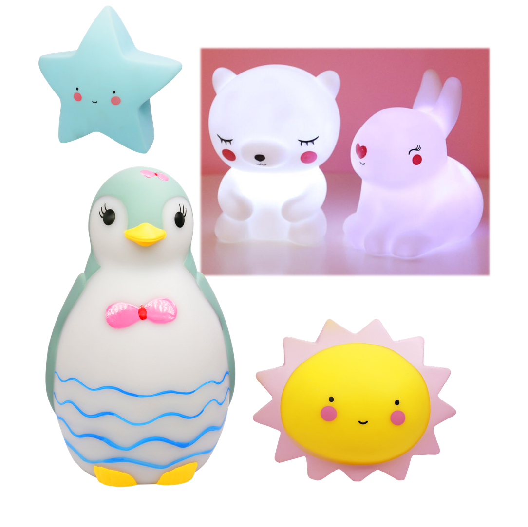 3D Anyversari Sound Machine Acrylic Blanks Touch And Voice Bed Room Led Cartoon Wireless Table Lamp Night Light ForKids