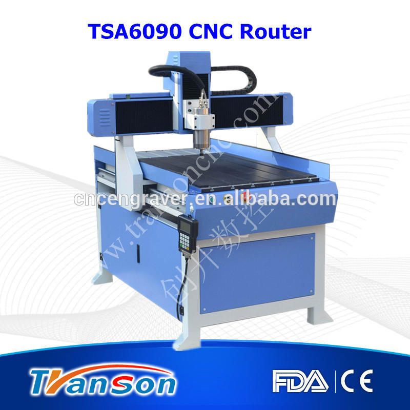 TSA 6090 4 axis cnc router in wood router