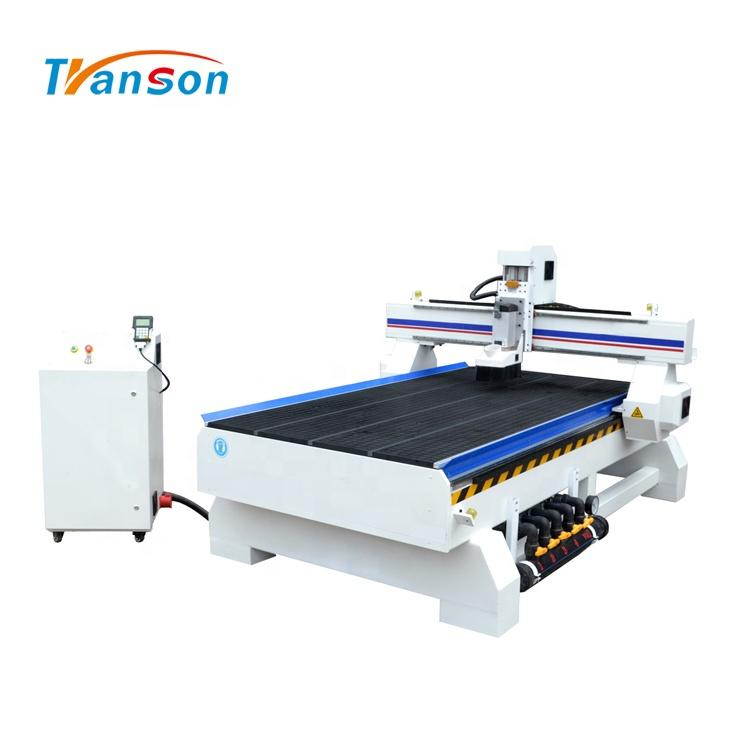 Transon TSW1325B CNC Router Wood Carving Machine Vacuum Worktable Price Economical