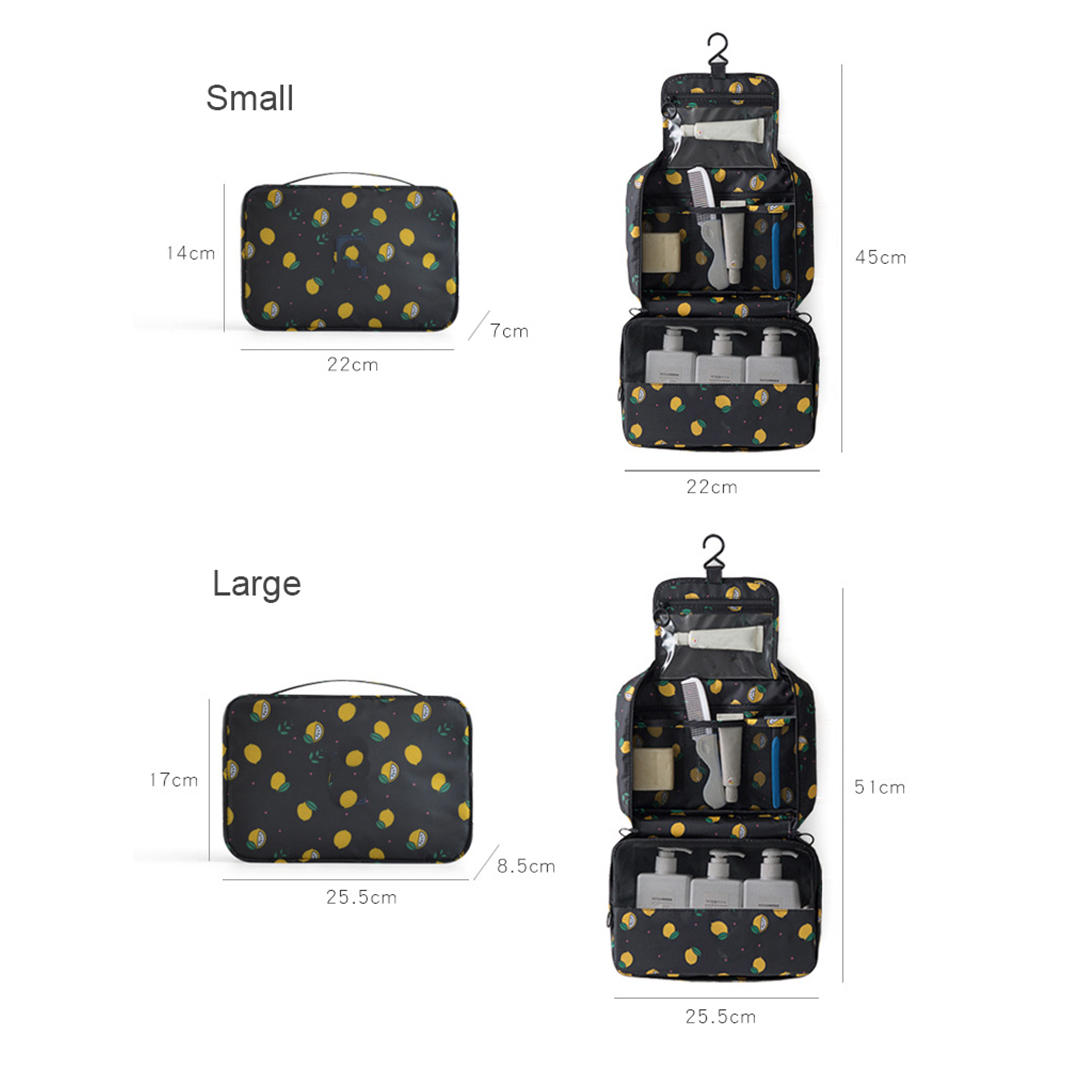 Travel Waterproof Portable Women Cosmetic Organizer Pouch Hanging Wash Bags Man Toiletry Bag Cute Makeup Neceser Maquillage