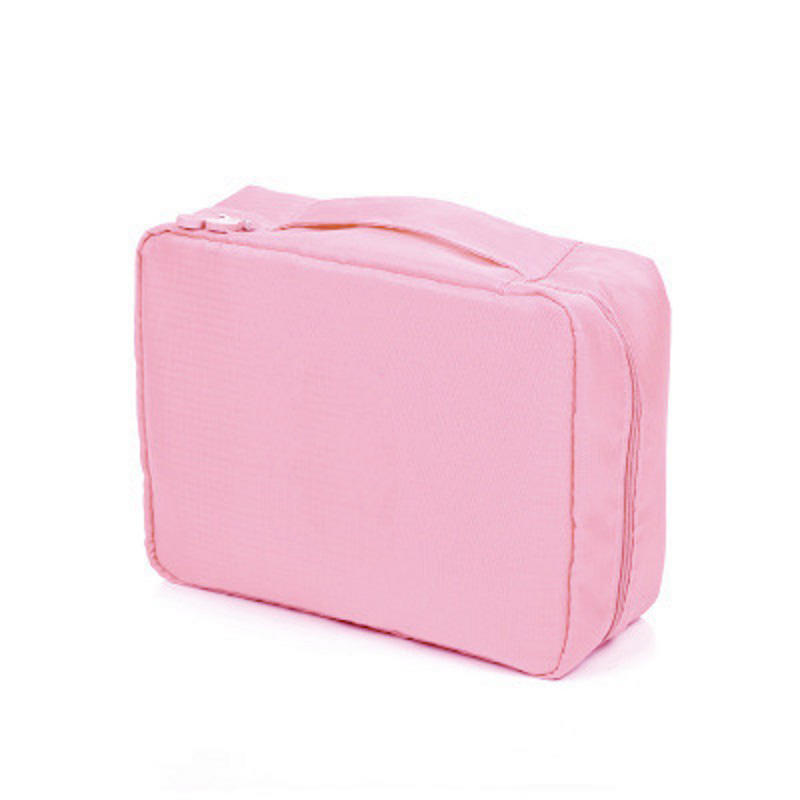 New fashion Women Cosmetic Bag Multi function Organizer Waterproof Portable Makeup Bag Travel Necessity Beauty Case Wash Pouch