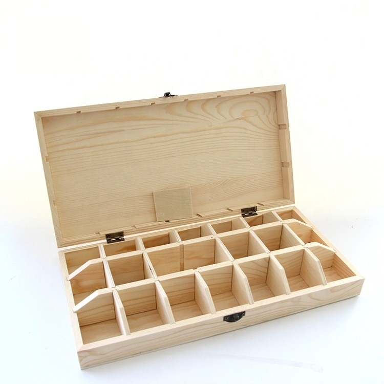 Large capacity wooden essential oil storage box gift for display