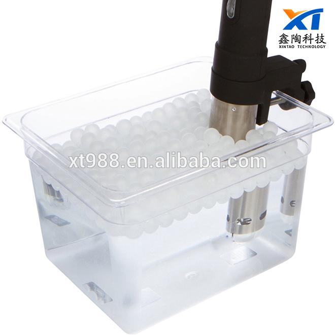 XINTAO 20mm BPA Free 250 Polypropylene PP Balls Sous Vide water balls plastic floatation ball