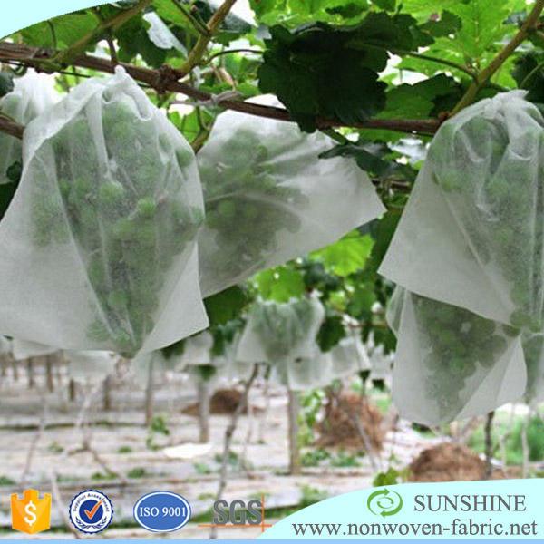 agriculture non woven cloth, tnt textile banana bag cover