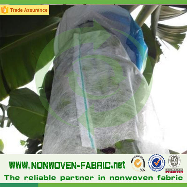 Frost Resistant Non woven Fabric Banana Bags/Fruit Protective Cover