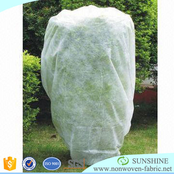 agricultural nonwoven fruit tree covers/pp spunbond non woven carpet cloth/tnt non-woven flower wrapping material