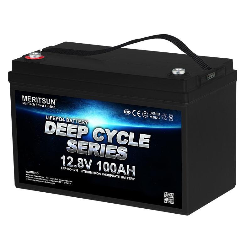 Lifepo4 12v 100ah Deep Cycle Lithium Ion Battery