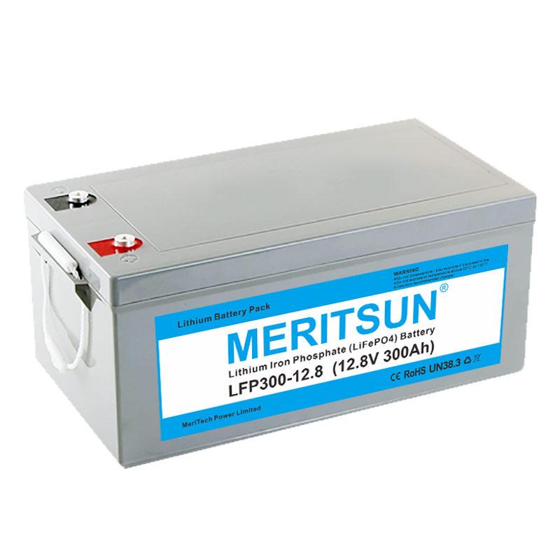 2v Deep Cycle Lithium Ion Battery 12v 300ah Lifepo4 Battery Pack