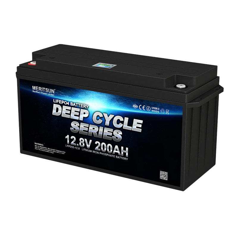 High quality 12v 200ah lifepo4 battery high power 12v 4000 cycles 12v lifepo4 battery pack with BMS