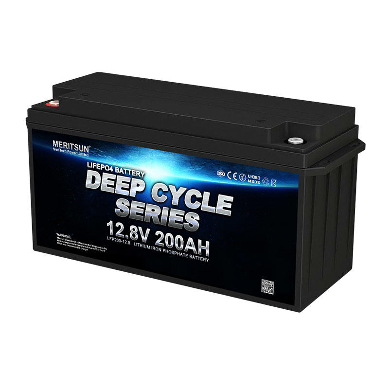 12v 200ah Deep Cycle Lifepo4 Lithium Ion Phosphate Battery