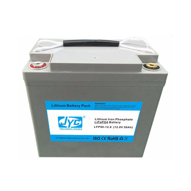 Rechargeable Li-ion Lipo Battery Pack 11.1V 50Ah Cycle Life >1000 cycles for Solar Battery Bank System