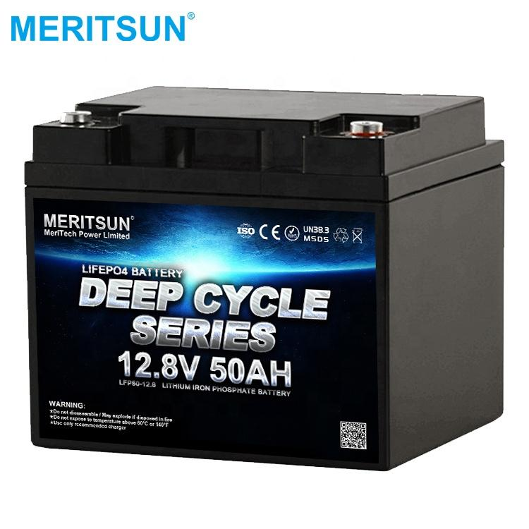 High Quality Solar energy 12V 50Ah LiFePO4 battery with smart bms